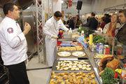 Rationelle Lösungen für das Bäckerbistro: Aussteller zeigen Konzepte rund um die große und kleine Küche, um kalte und warme Snacks sowie um Kaffee und Speiseeis.