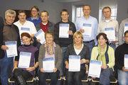 Alle Teilnehmer haben ein Zertifikat erhalten – und sind in Sachen soziale Kompetenz einen Schritt weiter.