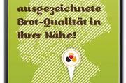 Künftig können ausgezeichnete Bäckereien in Deutschland auch via App gefunden werden.  Montage: ABZ
