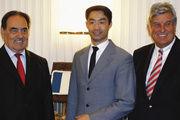 Gemeinsame Grundpositionen (von links): Jean-Pierre Crouzet, Präsident des französischen Bäckerverbandes, Bundeswirtschaftsminister Dr. Philipp Rösler und ZV-Präsident Peter Becker.