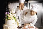 Konditor und Bäcker statt TV-Köche: Frank Steidl (rechts) und Thomas Horn haben es ins Fernsehen geschafft.