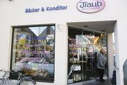 """""""Bussen-Bäcker"""" Traub direkt am Marktplatz: Oberschwabens höchster Berg, der Bussen, steht seit 45 Jahren als Marke für die Bäckerei."""