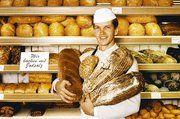 Auch der Düsseldorfer Bäckermeister Josef Hinkel verwendet für seine Backwaren jodiertes Speisesalz.