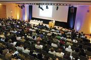 Branchentreff im ICM Congress Center der Messe München.