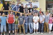 Unterrichtstoff in der Praxis vermittelt: Die Meisterschüler besuchten bei ihren Exkursionen auch die Sessler Mühle.