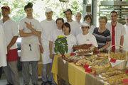 Rund 70 angehende Fachverkäuferinnen dekorierten ein Brotbüffet. Doch auch die 30 angehende Bäckerinnen und Bäcker präsentierten ihre Waren kreativ.