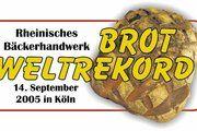 Demonstration deutscher Brotvielfalt