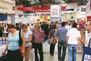 Die Sachsenback findet als wichtiger Treffpunkt der Branche auf dem Messegelände in Dresden statt.