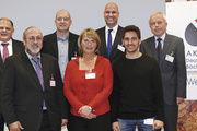 Referenten und Moderatoren der 3. Ausbildungstagung des Kompetenzzentrums Südwest (v. l.): Stefan Körber (BIV Hessen), Wilfried Weber (Badische Backstub'), Markus Bretschneider (BIBB), Sabine Newrzella (Bäckerei Newzella), Bernd Kütscher (Akademie We