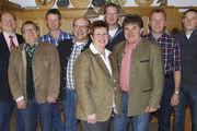 Der Vorstand der Bäckerinnung Regensburg-Kelheim (von links): Hans Deubel, Karl Jobst, Franz Klein, Franz Landstorfer, Elfriede Deubel, Daniel Frank, Albert Schmidbauer, Armin Bugl und Werner Altmann.