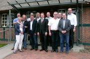 Obermeister Martin Martensen (Mitte) und seine Vorstandskollegen der Innung Nord.