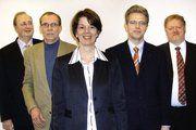 Karin Nikolai ist als Geschäftsführerin jetzt für BIB-Ulmer Spatz und MeisterMarken verantwortlich (von links): Hermann-Josef Michaelis, Dr. Udo Scharf, Karin Nikolai, Thomas Eggeling und Christoph Rohschenkel.