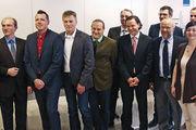 Der neu gewählte Aufsichtsrat der Bäko München Altbayern und Schwaben freut sich auf seine Aufgaben, ganz links: AR-Vorsitzender Heinz Hoffmann.