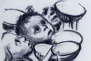 Zeichnungen und Graphiken unter anderem von Käthe Kollwitz zeigt das Museum für Brotkultur.