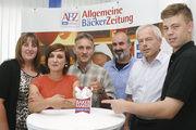 Die Jury (von links): Michaela Kohlen, Katharina Ott, Reinald Wolf, Ulrich Kroppenberg, Andreas Kofler und Maximilian Raisch.