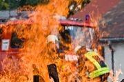 Die genaue Ursache des Brandes ist unklar.