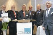 Vorstand und Aufsichtsrat sind mit der Geschäftsentwicklung der Bäko-Zentrale Nord zufrieden (von links): Michael Wippler, Klaus Borchers, Peter Becker, Lutz Henning, Alois Mensing und Eckhard Starke.