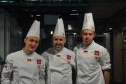 Vertreten bestens die Nationalfarben: Felix Remmele, Siegried Brenneis und Maximilian Raisch.