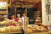 Das Back-Spektakel von Die Lohner's und Jule Verne von Kugel's Backwelt – ausgefallene Shopkonzepte mit Snack- und Bistroangebot. Erfolgsfaktor neben der spektakulären Optik: die Qualität.