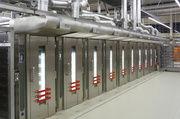 Thermoöl-beheizte VTR Anlage mit dem Beladesystem Concord.