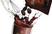 Die Schokolade kann vom Gast selbst eingerührt werden.