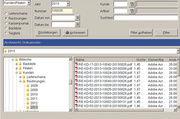 Bildschirmansicht des DMS-Systems zur Archivierung von Dokumenten jeder Art.