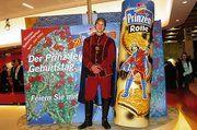 Mit einem Prinzen warb Griesson – de Beukelaer auf der Internationalen Süßwarenmesse in Köln für die Prinzenrolle