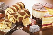 Safari-Rouladen und andere Spezialitäten werden aus dem neuen Biskuitprodukt hergestellt.