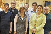 Der neu gewählte Vorstand des Bäckerfachvereins Hannover.