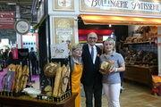Kollegen der Moulin Bourgeois. Eine Mühle, die  mit ihrem vielfältigen Angebot nicht nur französiche Bäcker überzeugt. Es werden auch Mehle nach Deutschland exportiert.