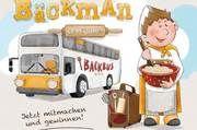 Der Protagonist Bäckman geht mit einem Backbus auf Reisen und besucht zwei Kindergärten und zwei Grundschulen.