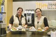 Kaffeehaus der Bäckerei Padeffke: Hier wird Bäckergastronomie auf hohem Niveau erfolgreich bedient.