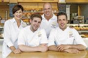Familienbande (von links): Doris Siebers, Sohn Robert (nicht im Betrieb tätig), Bernd und Stephan Siebers.