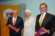 Referenten der Tagung (von links): Thomas Sattelberger, Ulrike Detmers, Josef Sankjohanser.