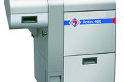 Die Brotschneidemaschinen Rotec 400 ergänzt die Baureihe dieser Serie.