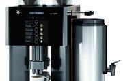 Die WMF 1200 F liefert Filterkaffee aus mahlfrischen Bohnen.
