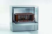 Vielseitig, variabel, raumsparend: Die Gerätespülmaschine GS 630 ist ideal für Bäckereien.