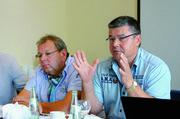 Wollen beide im kommenden Jahr zum letzten Mal für einen Vorstandsposten kandidieren: Jörg Reichau (links) und Thomas Müller.