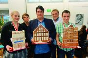 Die Schönsten (v. l.): Stina L. Böttner (2.), Fabio M. F. Leite (1.) Klaus-Dieter Bebensee (3.).