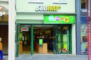 Die Subway-Restaurants verzeichnen im vergangenen Jahr einen Besucherplus von 1,5 Prozent.