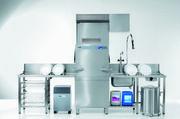 Die Durchschubspülmaschine PT-Climate Plus nützt auch den Dampf der Raumluft.