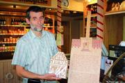 Jan Tablinscy hat den Stettiner Peperkoken beim Marschallamt als traditionelle Ware eintragen lassen.