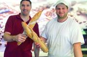 Das beste Baguette in Bayern? Ludovic Gerboin (links) zusammen mit seinem Bäckermeister David Hanus.
