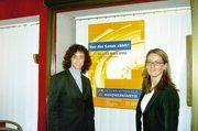 Nadja Katnani (von links), Projektleiterin der GHM, die auch für die iba zuständig ist, stellte zusammen mit Pressereferentin Mélanie Gobert die Neukonzeption und die Leistungsdaten der IHM vor.