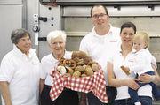 Die Familie Siener (von links): Anita, Heinrich, Horst, Birgit, Lena.