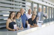 Die Jury hat entschieden (von links): Debora Gatti, Katharina Ott, Gerold Heinzelmann, Reinald Wolf, Bernd Siebers, Heike Kinkopf, Bernd Kütscher.