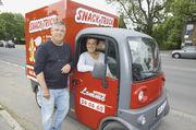 Klein, wendig und aufmerksamkeitsstark sind die Mini-Trucks für die Versorgung von Events aller Art.