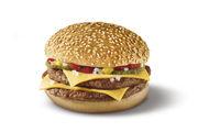 Sieht genauso aus wie der tradionelle Double Cheeseburger: der Burger glutenfrei.