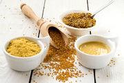 Aus diesen Zutaten wird Senf hergestellt, mit dem Bäckermeister Martin Bäns seine spezielle Buttercremetorte aromatisiert hat.