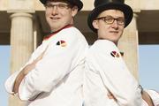 Marc Mundri und Felix Remmele vertreten Deutschland.